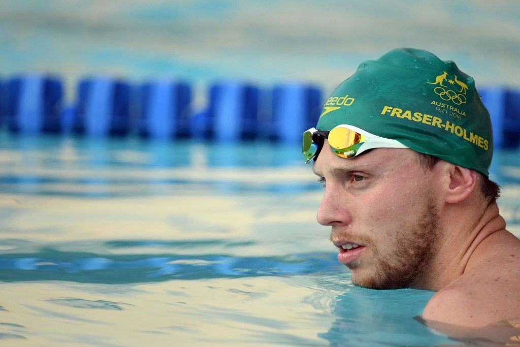 Australia's Thomas Fraser-Holmes was banned for a year after missing three consecutive drug tests.